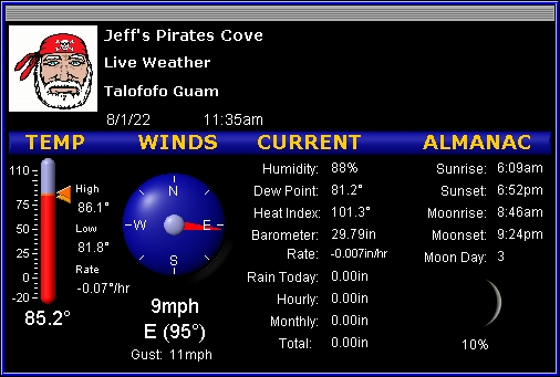 Current WX @ JPC